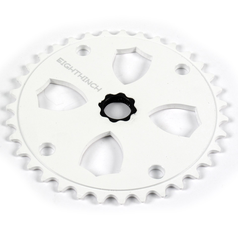 Eighthinch 48 Splined Sprocket Chainring BMX//Freestyle //// 41t White