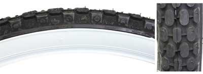 Chengshin 26x2.125 C693 Black //white Tire