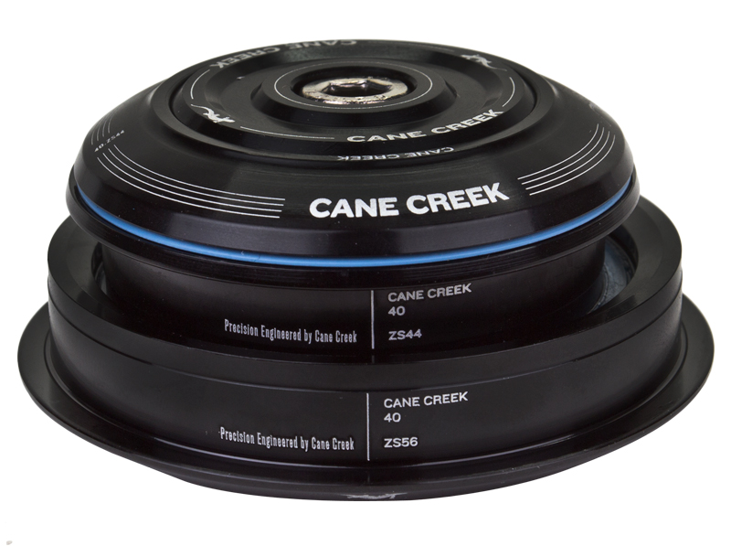 "Cane Creek 40-Series 0-Stack Ext-Cup Straight 1-1//8/"" 44//56 Black"