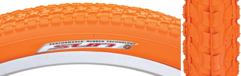 Sunlite Cruiser 927 Tire Sunlt 26x2.125 Bk//wh Cruiser K927w//sun Logo Komfort