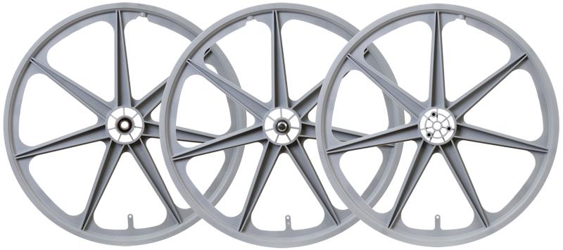 Trike Mag Wheel Set Wht F//arrière DRIVE /& Galet