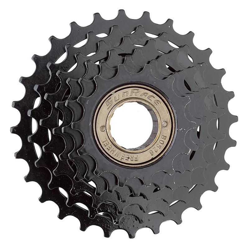 Sunrace Mfr2A6Dp 14-24 Hg Freewheel 6-Sp Brown
